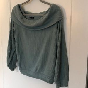 Abercrombie extra soft cowl neck sweater